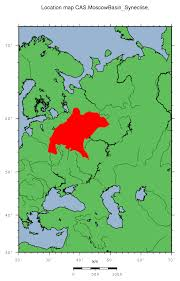 cas moscow basin (syneclise) Map Cas moscow basin (syneclise) location map map case