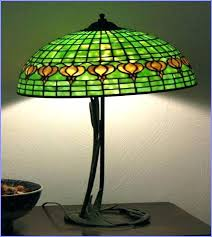 small stained glass lamp shades for chandeliers table antique shade vintage lamps small glass