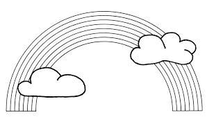 Coloriage Arc En Ciel En Ligne L L L