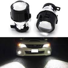 2008 Wrx Fog Light Kit Ijdmtoy 2 Oem Replace Projector Fog Light Housings For 08 14 Subaru Impreza Wrx Sti 09 13 Subaru Forester Hid Or Led Ready Bulbs Not Included