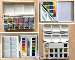 Winsor And Newton Cotman Color Chart Comparing Student Grade Watercolor Brands Scratchmade Journal