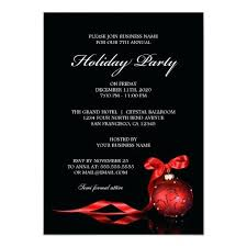 Sample Of Christmas Party Invitation Sample Holiday Party Invitations Zoli Koze