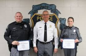 Chief Brown Holds Promotion Ceremony | Milford LIVE! - Local ...