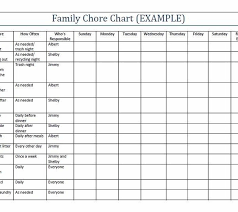 chore chart template for teenagers printable chore charts for famous see blank childrens printable