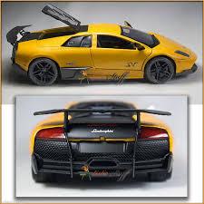 Showcasts Lamborghini Murcielago LP670-4 SV Hard Top. COLOR YELLOW ...