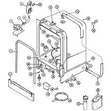 crosley dishwasher parts model cdu610b sears partsdirect tub