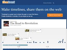 Free Online Timeline Generator Timetoast Is A Great Tool