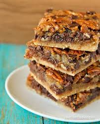 chocolate pecan pie bars. Delighful Pie Pecan Pie Bars In Chocolate