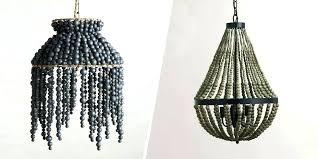 diy wood bead chandelier beaded chandelier 8 best beaded chandeliers beautiful wood chandeliers with beads with