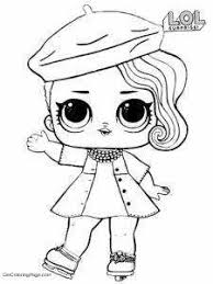 Lol Doll Coloring Pages With Hat Pictures Get Coloring Page
