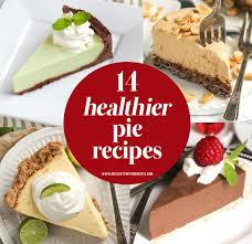 See more ideas about healthy birthday treats, healthy birthday, birthday treats. 14 Healthy Pie Recipes To Celebrate Pi Day 3 14 Guilt Free
