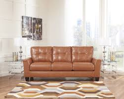Orange Couch Living Room Paulie Orange Durablend Sofa For 43994 Furnitureusa