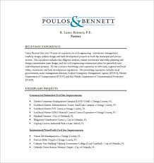 Blank Resume Format Fascinating 48 Civil Engineer Resume Templates PDF DOC Free Premium