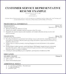 Resume Objective For Customer Service Call Center Best of Call Center Representative Resume Call Center Customer Service