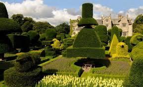 Левенс Холл самый красивый топиарный сад Англии Стиль Огород ru
