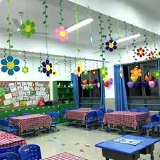class decoration ideas wall decoration ideas with paper