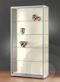 average glass display case with lights q0808721 wall retail display cabinet with led strip lights