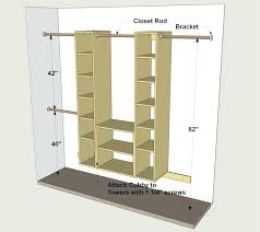 Double Closet Rod Height