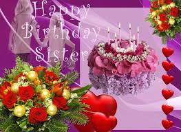Birthday cards wishes images ~ Birthday cards wishes images ~ Happy birthday dear sister greeting cards wishes pictures page