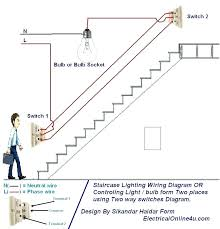 3 way lamp socket replacement 3 way lamp socket switch two way light switch diagram staircase