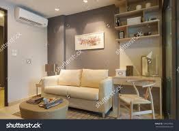 Japanese Living Room Modern Japanese Style Decorated Livingroom Stock Photo 133937003