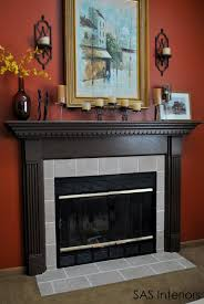 Image Fireplace Hearth Diy Fireplace Surround Transformation Replacing Out Of Date Tile On Fireplace Pinterest Diy Fireplace Surround Transformation Replacing Out Of Date Tile