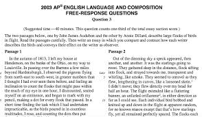 quinzi ms english advanced placement language composition 2003 prompt