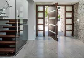 Contemporary Front Doors and Windows Bringing Style in Through the