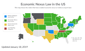 Sales Tax By State 2019 Chart The Confusing State Of States Sales Tax Trust