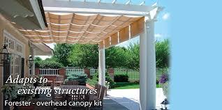 retractable pergola canopy. ShadeTree Canopy Retractable Pergola N