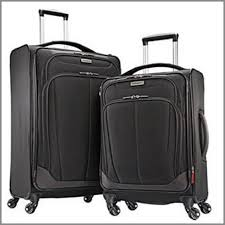 one of the best suitcases for travel samsonite 2 pc spinner luggage set