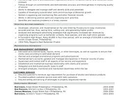 Server Bartender Resume Magnificent Server Bartender Resume Best Collection Example 28 Ifest