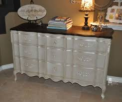 painted bedroom furniture pinterest. Painted French Provincial Triple Dresser Accented With Modern Masters Oyster Metallic Paint Bedroom Furniture Pinterest A