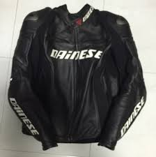 dainese racing d1 perforated leather jacket motorbikes on carou