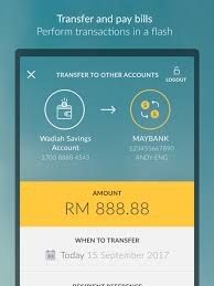 maybank on the app