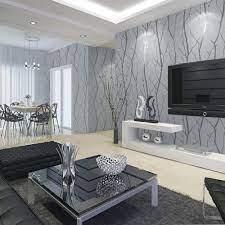FYBSNDY 3D Mural Grey 3D Embossed ...