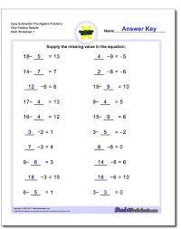 pre algebra subtracting linear equations worksheets prealgebra subtraction positive o subtraction equations worksheets worksheet um
