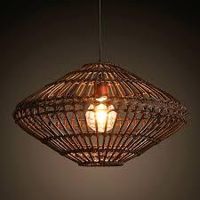 rattan pendant lamp southeast vintage country style bamboo wicker rattan pendant lamp restaurant home decor lighting