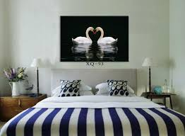 modern bedroom wall painting home decorative bedside