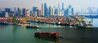 Image result for singapore port images