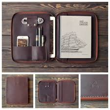 inside gift genuine leather zipper sleeve for ipad pro 10 5 2018