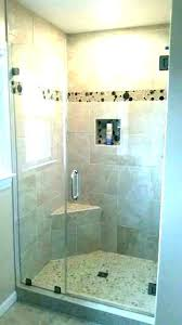 elegant frameless shower door installation