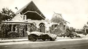 County fire and police have been going street by street to assess the damage. Damage To A Church In Compton After The Long Beach Earthquake Of 1933 Bizarre Los Angeles San Luis Obispo County San Gabriel Valley Los Angeles