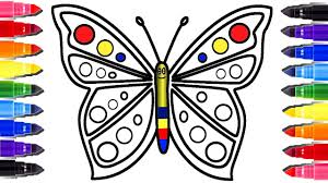 Small Picture FOR KIDS Butterfly Coloring Page and HEART Youtube Videos for