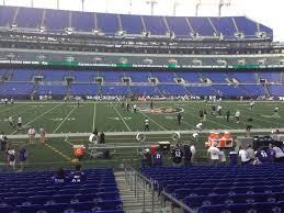 M T Bank Stadium Section 128 Row 12 Seat 1 Baltimore