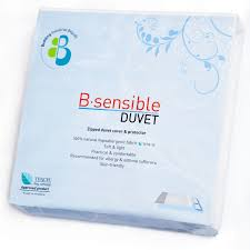 b sensible anti allergy duvet cover protector with tencel from 51 74rrp 57 49