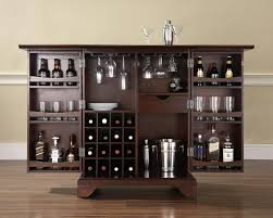 Small Bar For Living Room Antique Dark Brown Wood Small Bar Design For Sweet Home With