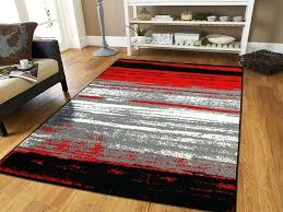 black white area rugs grey rug for less extra large red and gray red black and grey area rugs