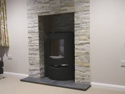 sandstone fireplace hearth in hampshire