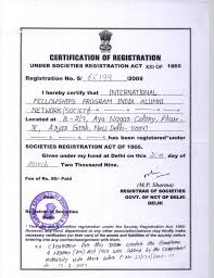 Ifpian Ifpian Certificate